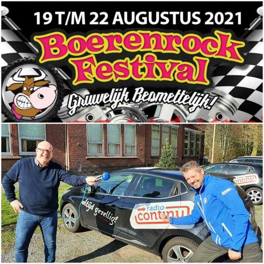 01-04-2021: Het Boerenrockfestival in Continu in Bedrijf