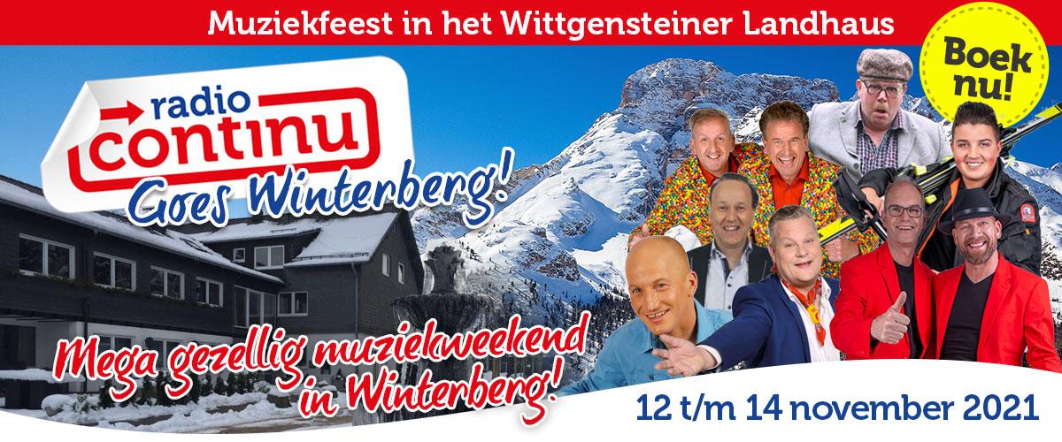Radio Continu Artiestenreis Winterberg!