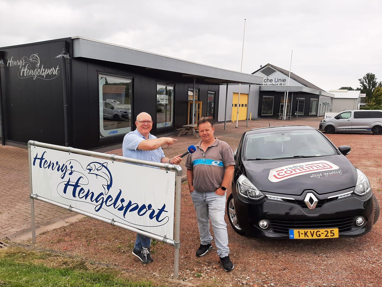 29-7-2021: Henry's Hengelsport uit Farmsum in Continu in Bedrijf