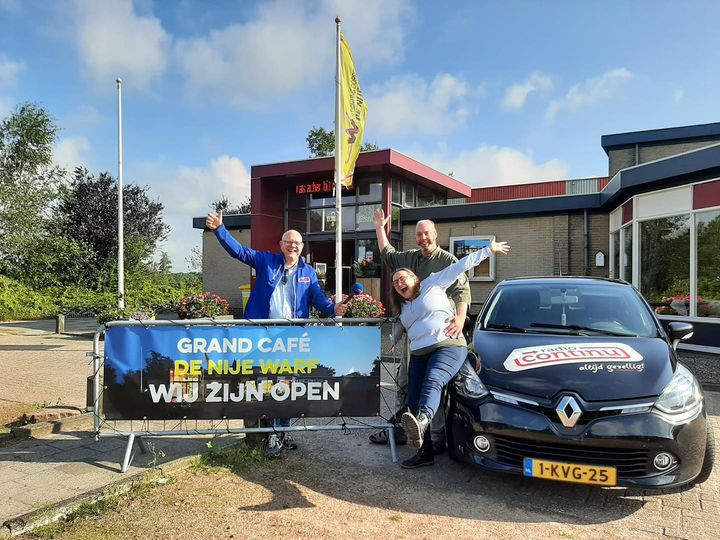 2-9-2021: Grandcafé de Nije Warf in Continu in Bedrijf
