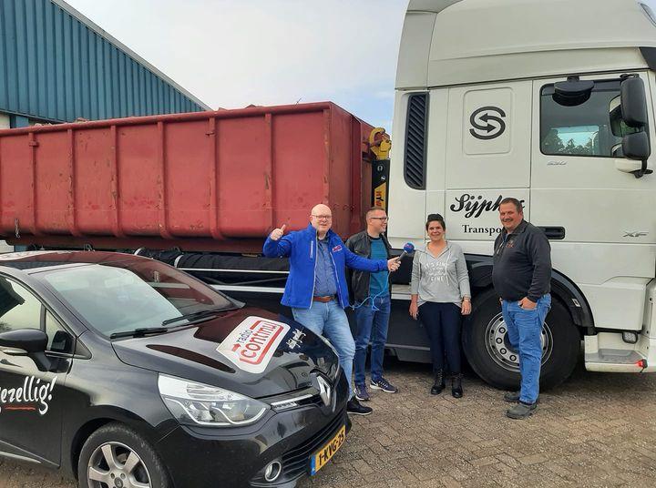 13-10-2021: Sijpkes Afvalinzamelaar Stadskanaal in Continu in Bedrijf
